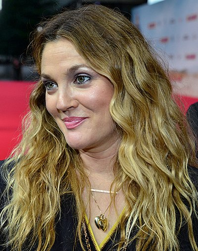 Drew Barrymore, American actress, director and producer