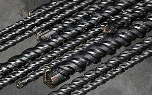 Drill bit - A set of masonry drill bits
