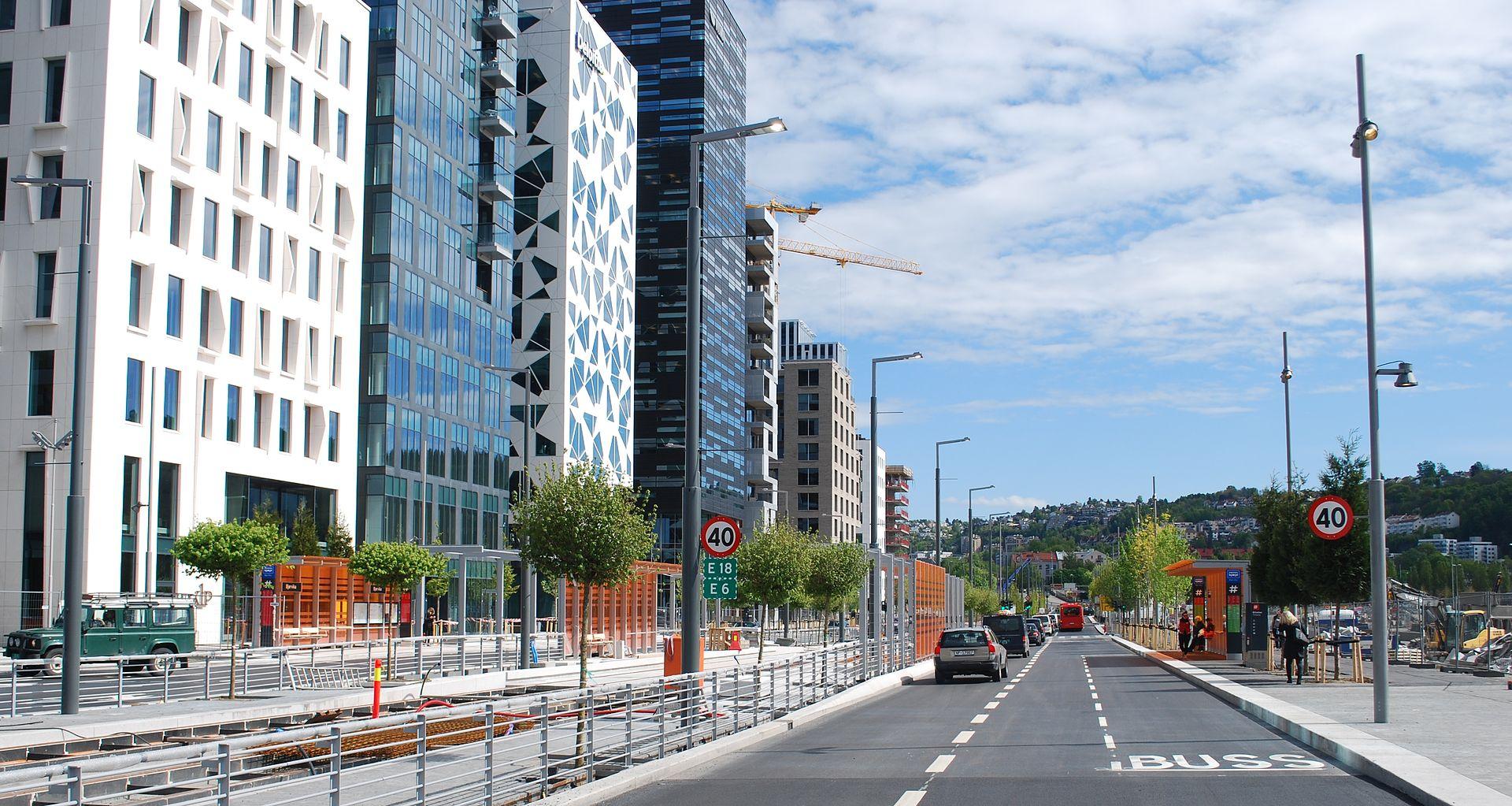 Dronning Eufemias Gate Oslo Wikipedia