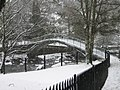 Dunblane in Winter, The Faery Bridge. - geograph.org.uk - 1725103.jpg