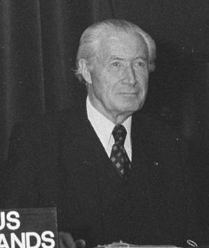 Minister of Supply - Image: Duncan Sandys 1975