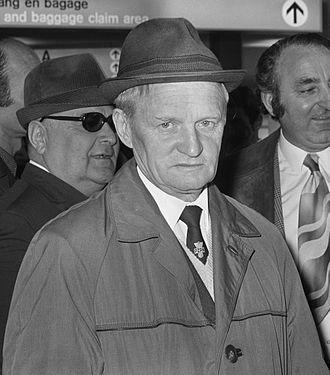 Gavriil Kachalin - Kachalin as manager of Dinamo Tbilisi in 1972