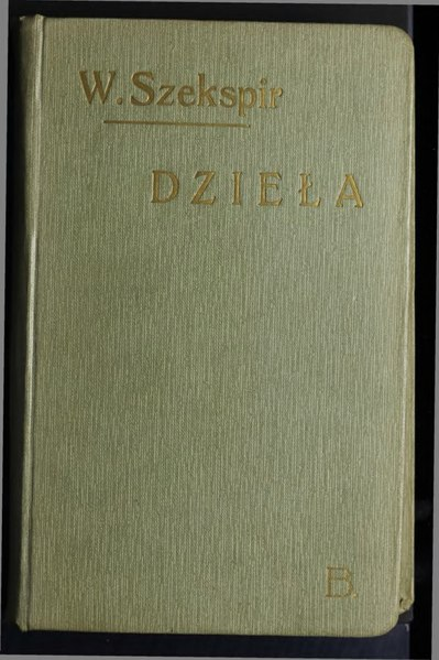 File:Dzieła Wiliama Szekspira T. VII.djvu