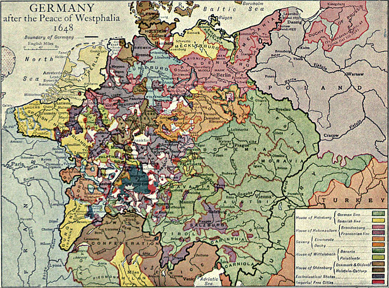 a history of the peace treaty of westphalia