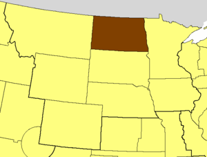 Episcopal Diocese of North Dakota - Image: ECUSA North Dakota