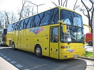 LAG Motorcoach - A 1998 Tatra Bus Zakopane EOS 200 coach in Kraków, Poland