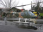 ES 511 Agusta Bell OH-58A Jet Ranger II of 3 TEAS at its base..jpg