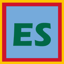 ES Spanish Language Symbol ISO 639-1 IETF Language Tag Icon.png