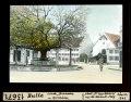 ETH-BIB-Bulle, Linde, Brunnen und Kirchlein-Dia 247-13671.tif