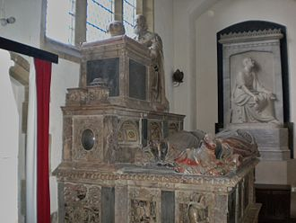 Anthony Browne, 1st Viscount Montagu - Montagu's monument in St Mary's parish church, Easebourne, Sussex