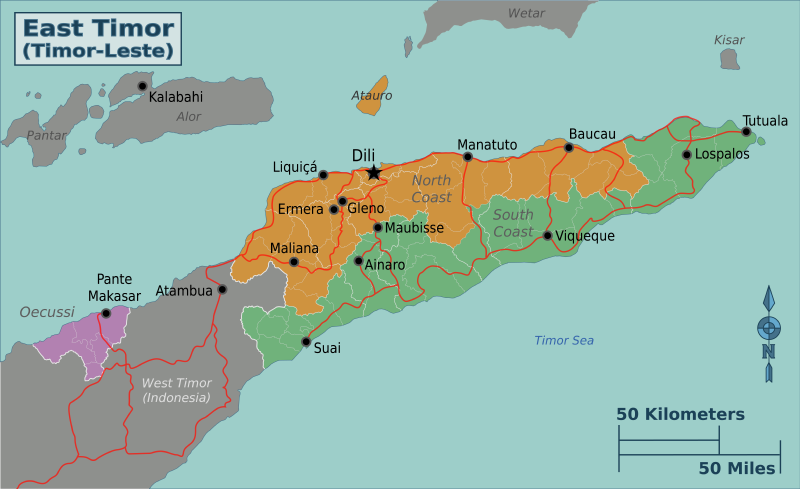 File:East Timor map.png