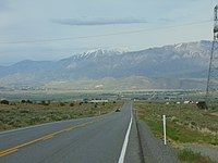 East on US-6 across Goshen Valley from Big Canyon, May 16.jpg