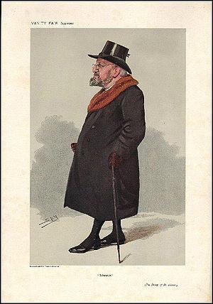 Edgar Jacob - Vanity Fair caricature by Spy (Leslie Ward), 26 September 1906
