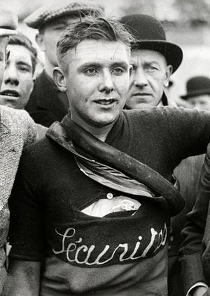 Edgard De Caluwé - At the 1933 Tour of Flanders