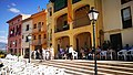 Edificis de la Plaça de la Vila de Gironella durant la Ballada Popular de l'Almorratxa 2017.jpg