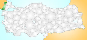 Edirne Turkey Provinces locator.jpg