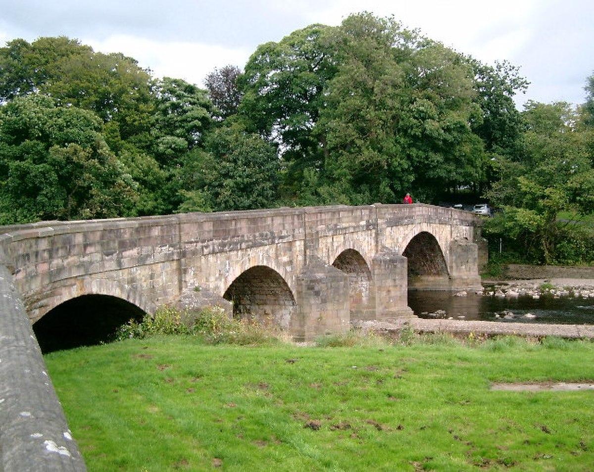 Edisford Bridge, Clitheroe - geograph.org.uk - 54057.jpg