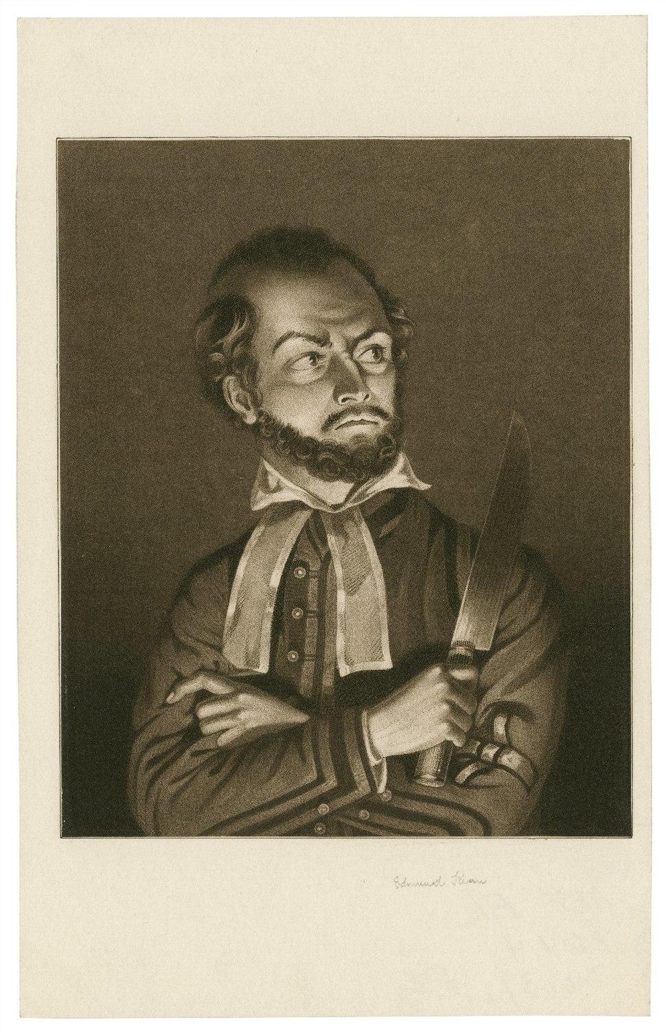 Edmund Kean as Shylock