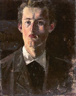 Edvard Munch - Self-portrait (1882-83)