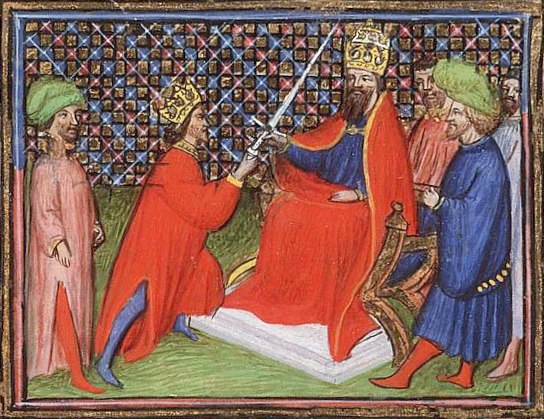 Edward III becomes Vicar to the Emperor Ludwig V