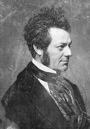 Edwin Forrest - Daguerreotype of Forrest by Mathew Brady