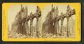 Effects of fire on granite walls, Pearl Street, by Soule, John P., 1827-1904.png