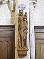 Eglise Saint-Martin à Triguères- Notre dame de Trigueres - sculpture en bois du XVème siècle - hauteur cm.jpg