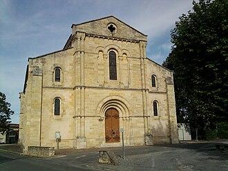 Gaillan-en-Médoc - Image: Eglise Saint Pierre Gaillan en Medoc (facade)