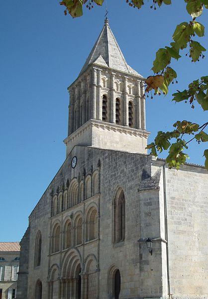 Saint-Gervais-Saint-Protais church in Jonzac, France