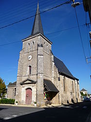 The church in Channay-sur-Lathan