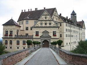 Heiligenberg - Image: Eingang Heiligenberg