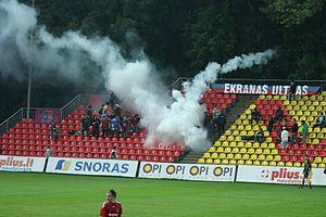 FK Ekranas - Ekranas fans. Pirmoji Armada