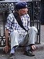 Elderly Man on Street - Downtown San Jose - Costa Rica (8480534640).jpg
