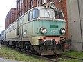Elektrowuz ET22 w lokomotywowni Kobylepole w Poznaniu 24 listopada 2019.jpg
