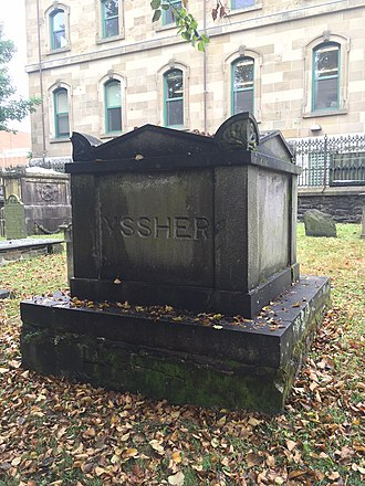 Thomas Ussher - Tomb of Sir Thomas Ussher's wife, Eliza Ussher, d. 1835, Old Burying Ground (Halifax, Nova Scotia)