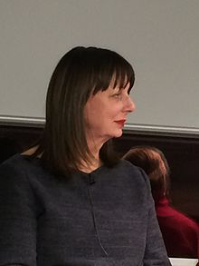 Elizabeth Buchan at Foyle's Bookstore, London, February 2016.