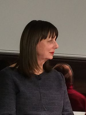 Elizabeth Buchan - Elizabeth Buchan at Foyle's Bookstore, London, February 2016.