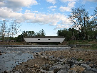Doe River - Image: Elizabethton Covered Bridge 2