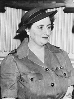 (1912-1985) army nurse and hospital matron