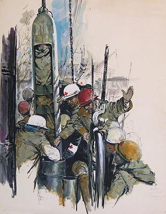 Helmuth Ellgaard - Ellgaard's coverage of the 1963 Wunder von Lengede mining rescue