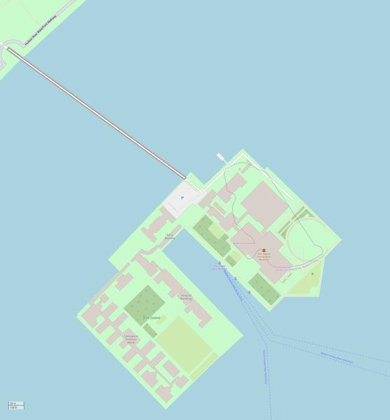 OSM Ellis Island from Wikipedia