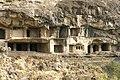 Ellora Caves, India, Rock-cut monastery temple cave complex.jpg
