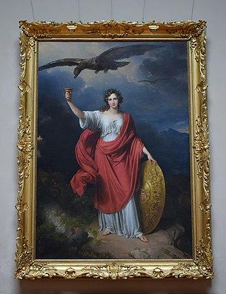 From Darkness, the Light (Johann Ender) - Image: Ender borura deru framed