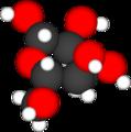 Enkel modell av eit druesukkermolekyl.png