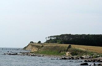 Enø - The south-western coast of the island
