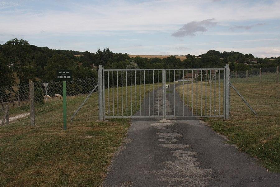 Entrée des sources de la Dhuis, à Pargny-la-Dhuys, dans l'Aisne.