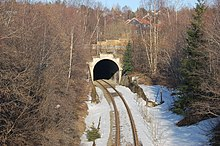 Entrance to Tyholt Tunnel from Lerkendal.jpg