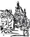 Ernst Ludwig Kirchner Frauenkirche 1908.jpg