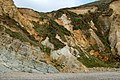 Eroded cliff face, Pwll March, Newgale - geograph.org.uk - 1525035.jpg