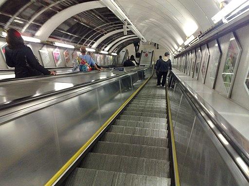 Escalator at Oxford Circus